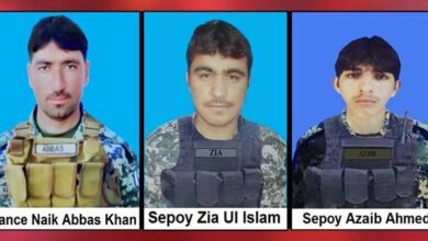 Pakistan Army kills two terrorists and loses three soldiers