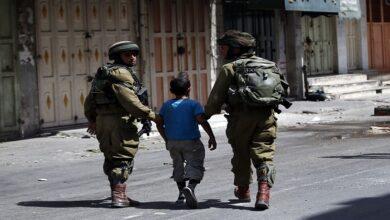 Palestinian teenager
