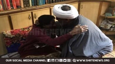 Allama Raja Nasir showers great poet Rehan Azmi with praise