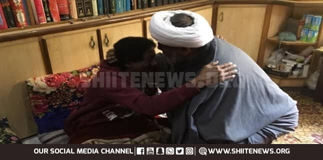 Allama Raja Nasir showers great poet Rehan Azmi with praise