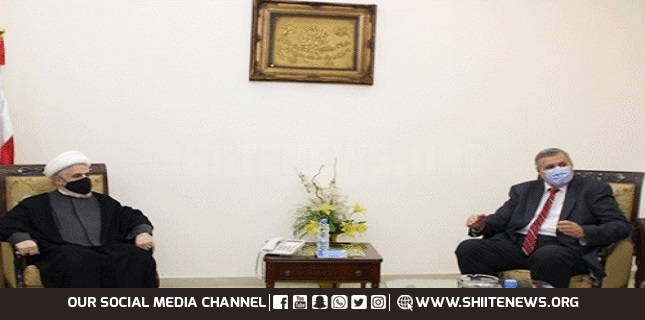 Sheikh Qassem Welcomes UN Special Coordinator on End of His Mission