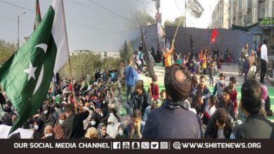 Sit in across Karachi to express solidarity with Hazara Shia families