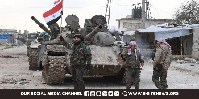 Three Syrian forces killed in terrorist attack