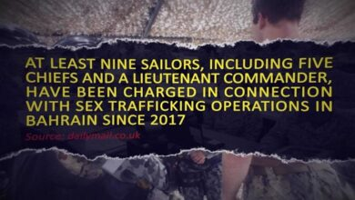 US Navy Sex Trafficking in Bahrain