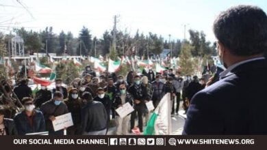Iranians rally in solidarity with families of slain Hazara