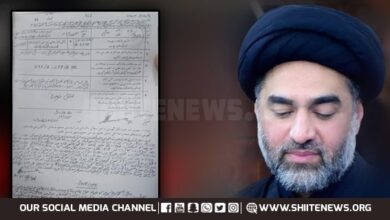 Eminent Shia Islamic scholar Allama Ali Raza Rizvi implicated in false case