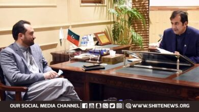 Minister Kazim Meesam calls on Chief Minister