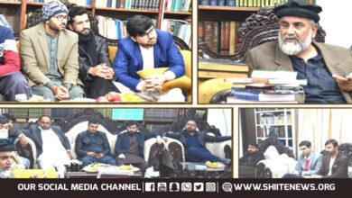 Social media activists laud vision of Allama Raja Nasir