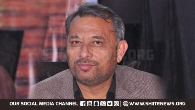 Markazi Tanzeem e Aza leader Salman Mujtaba