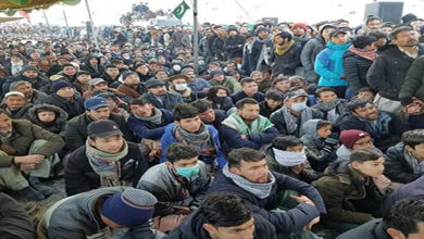 Sit in along with coffins of martyred Hazara Shia coalminers
