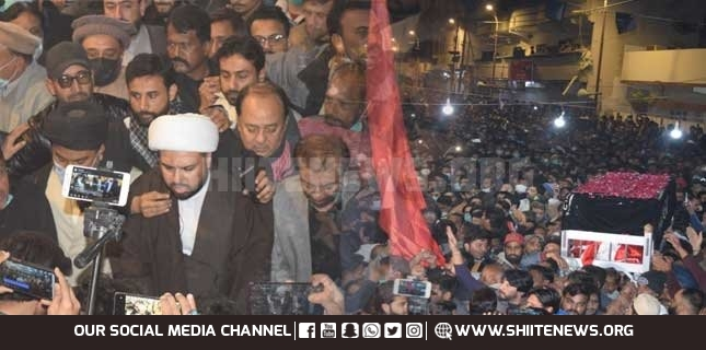 Tens of thousands attend funeral of great poet Rehan Azmi