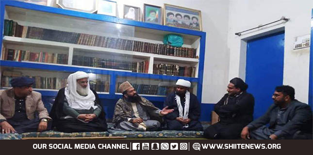 Moonsighting committee chairman Molana Azad visits Jamia Motahri