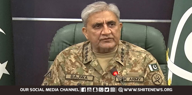 Pakistan Army Chief visits Logistic installation in Rawalpindi