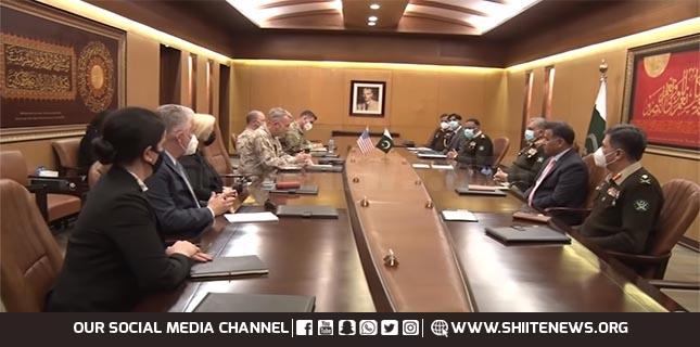 US CENTCOM Commander meets Pakistan Army Chief
