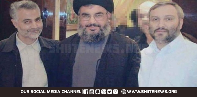 General Suleimani, Imad Mughniyeh, Sayyed Nasrallah's Devoted Comrades in Arms