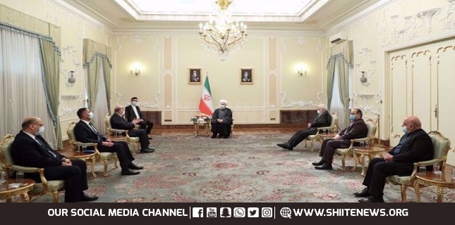 Iran-Iraq solid ties ensure regional security, stability: Rouhani