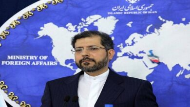 Iran's Foreign Ministry spokesman Saeed Khatibzadeh