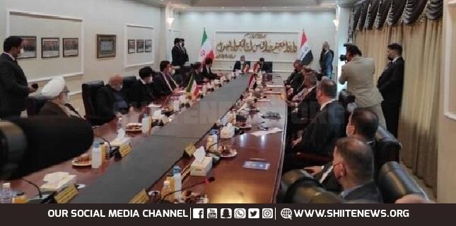 Iraq, Iran sign three MoUs on judicial cooperation