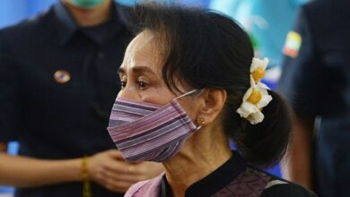 Myanmar's military says has 'detained' Aung San Suu Kyi