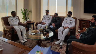 Naval Forces officials of Pakistan and Iran meet in Karachi