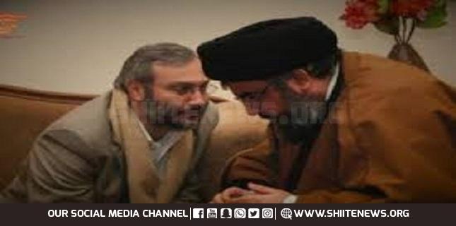 Nasrallah and Imad Mughniyeh