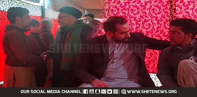 MWM GB leaders and Minister Kazim Meesam meet Sadpara family