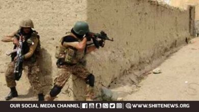 Pakistan Army shot dead four terrorists and loses two soldiers