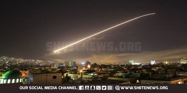 Syrian air defense downs Israeli missiles aimed at Damascus