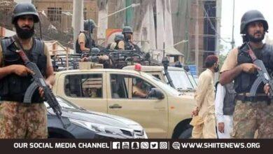 NACTA alert on terrorist attack on govt department in Karachi issued