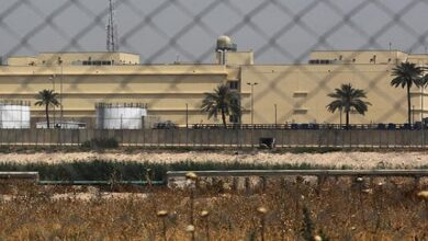 Three Rockets target US Embassy in Baghdad