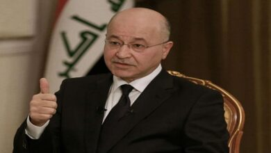 War against terrorism must continue; Iraqi President