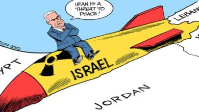 Illegal nuclear power Israel and their allies run campaign against Iran