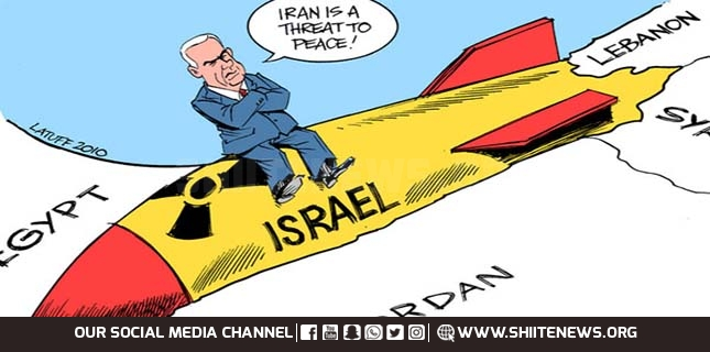Illegal nuclear power Israel and their allies run campaign against Iran