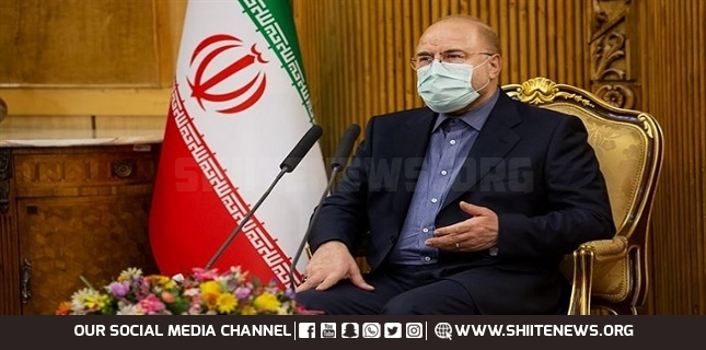 Qalibaf says carrying 'important' message from Ayatollah Khamenei for Putin