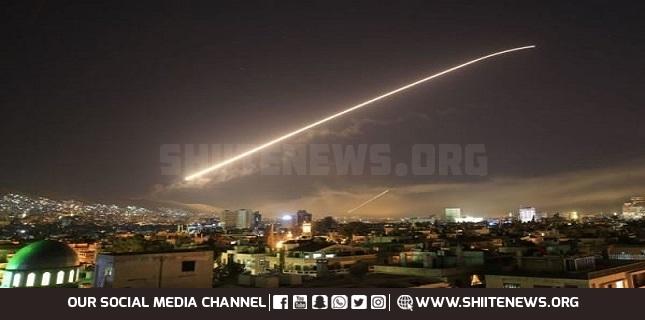 Syrian air defense downs Israeli missiles aimed at Damascus