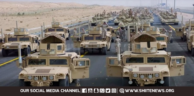 US convoy carrying
