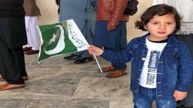 Shia majority Parachinar city celebrates Pakistan Day