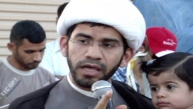 Bahrain Criminal Assaults Prisoner of Conscience Sheikh Zuheir Ashour