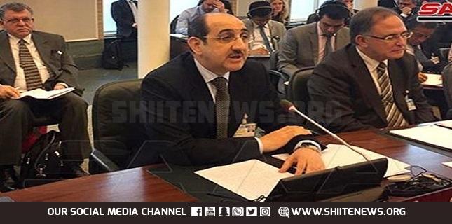 Envoy: Some states still exploit UNSC to politicize humanitarian work in Syria