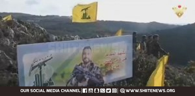 Hezbollah Fighters ready to Avenge Martyr Ali Mohsen and Defend Lebanon