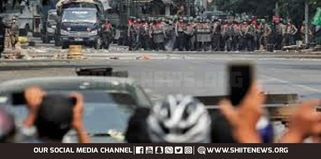 Myanmar police open fire on protesters to add one more to the fatalities
