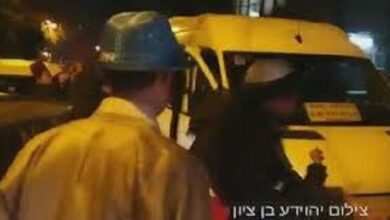 Palestinian Rams His Car into Zionist Settlers in Occupied Al-Quds