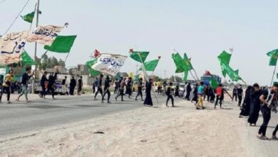 Pilgrims start moving to Karbala to participate in Mid-Sha'ban ceremony