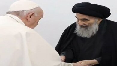 Pope & Sistani meeting NO to normalizing with Zionist regime