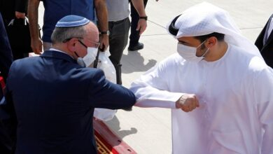 """Relations between """"Israel"""" and the UAE """" existed before"""