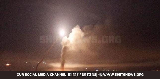 Syria's air defenses repel Israeli aggression, shoot down missiles near Damascus