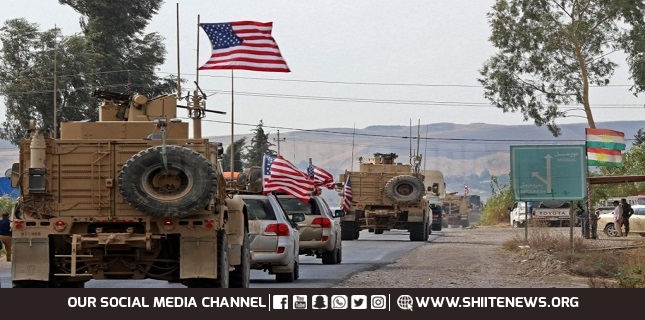 US military support convoy targeted in central Iraq