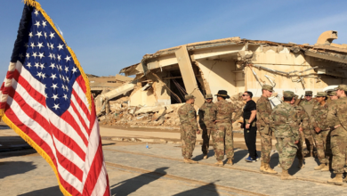 US troops withdraw from airbase in Iraq's Erbil