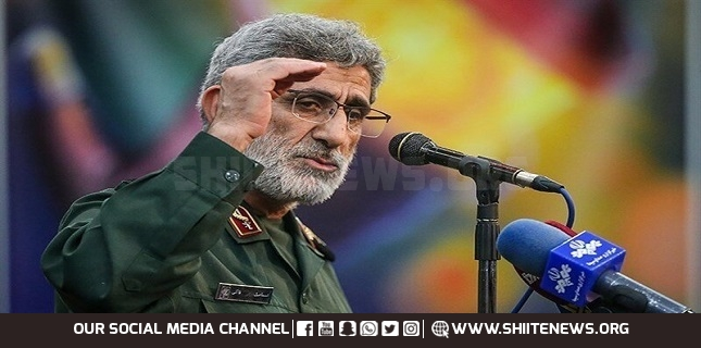 We will break the US and Israel bones: General Ghaani