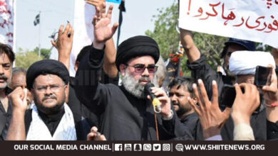 Allama Ahmed Iqbal announces sit in against enforced disappearance